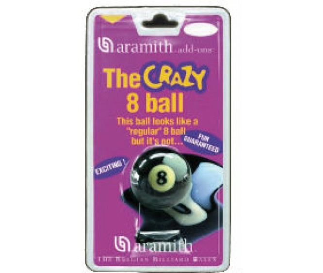 "Blister - 2.1/4"" The Crazy 8 Ball"