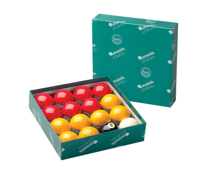 "Casino - 2"" set  &  1.7/8"" cue ball"