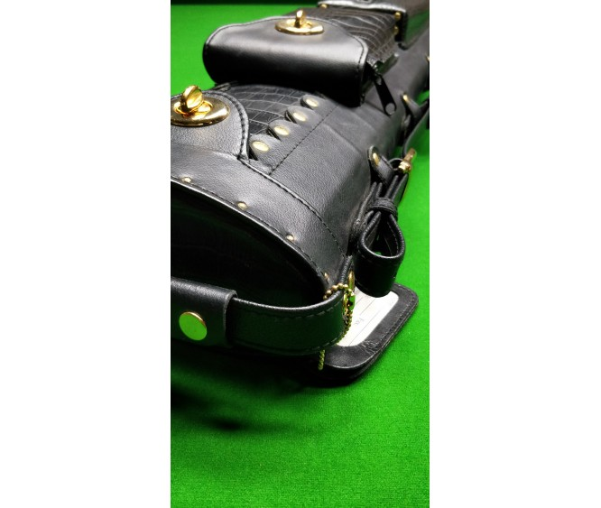 3 x 5 - Leatherette plain black