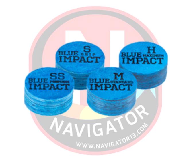 Single - Navigator Blue Impact Cue Tip