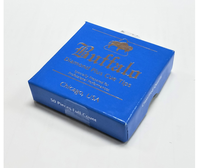 Box - Buffalo Diamond Plus Cue Tip