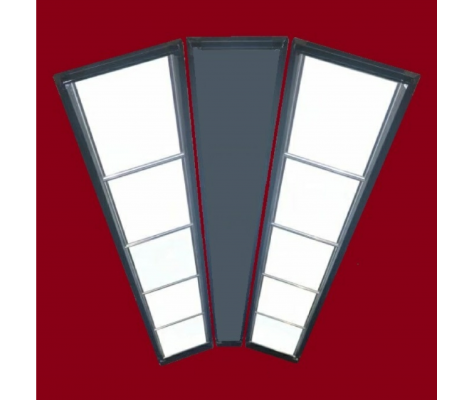 2 Rows - 10 Panels Snooker LED Lampshade