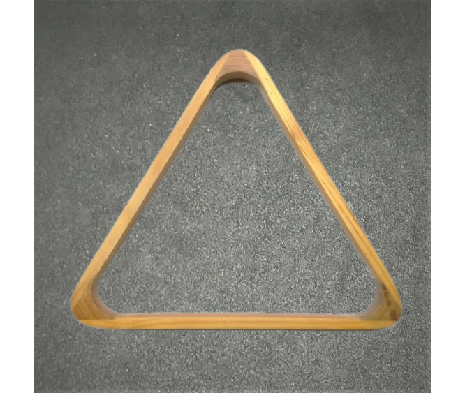 "For Ball - 2-1/16"" Deluxe Wooden Snooker Triangle"