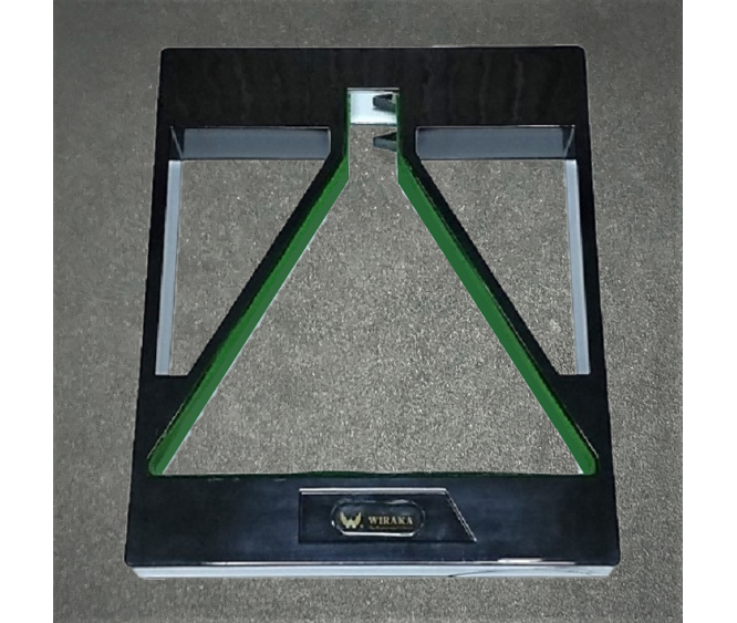 "For Ball - 2-1/16"" Tournament Square Ball Rack"